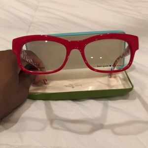 Kate Spade Red Frame with case.